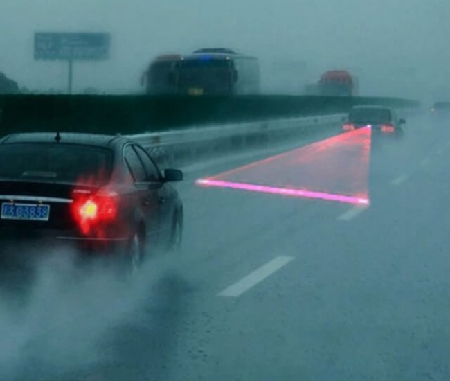 Anti-Collision Fog Laser Taillight