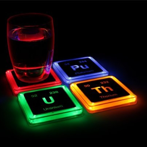 Radioactive Elements Coaster