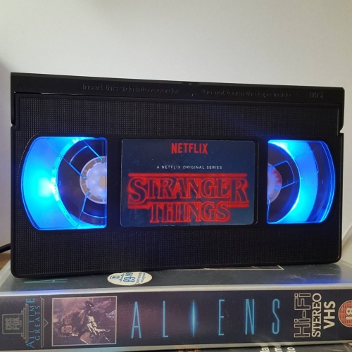 Retro VHS Night Light